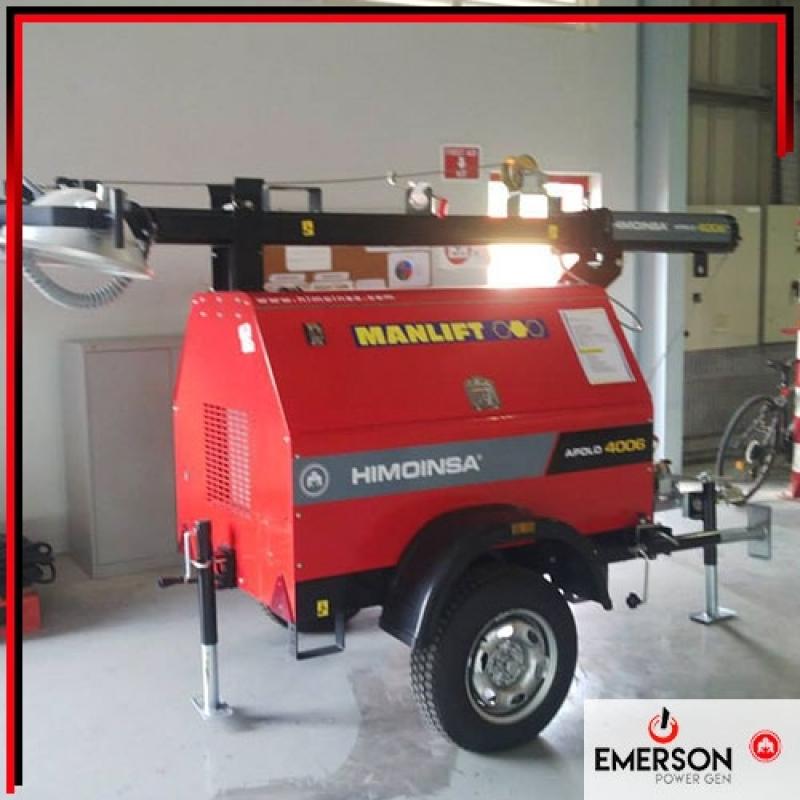 Gerador a Diesel Silenciado Preço Bento de Abreu - Gerador Silenciado a Diesel