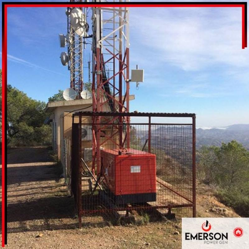 Gerador de Energia para Elevadores Roseira - Gerador de Energia a Gasolina