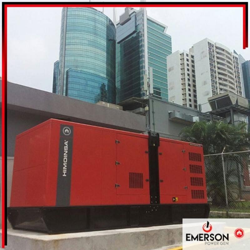 Grupo Gerador Automático Valor Inúbia Paulista - Grupo Gerador de Energia