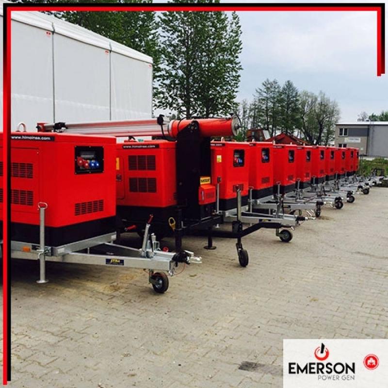 Grupo Gerador Diesel 150 Kva Preço Parque Santo Eduardo - Grupo Gerador para Elevador