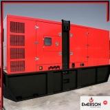 custo de gerador a diesel para residência Paulínia