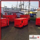 manutenção grupo geradores diesel Vila hida